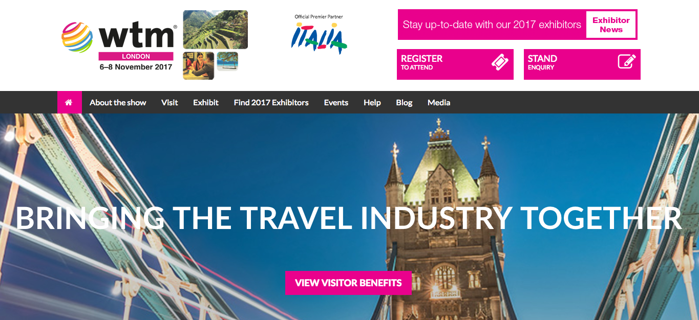 Nueva edición de la World Travel Market London (WTM 2017)