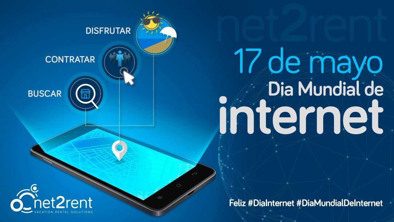 17 de mayo, día mundial de Internet. Feliz #DiaInternet #DiaMundialDeInternet