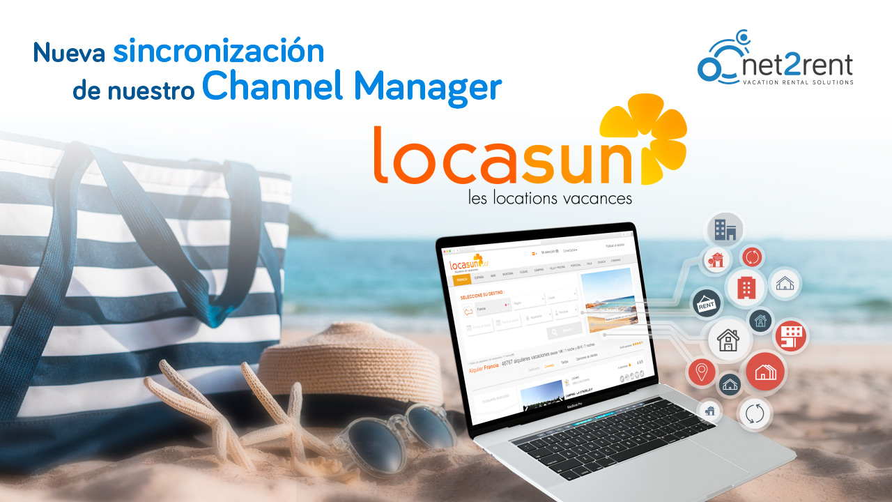 Locasun.es, nueva sincronización del Channel Manager de net2rent