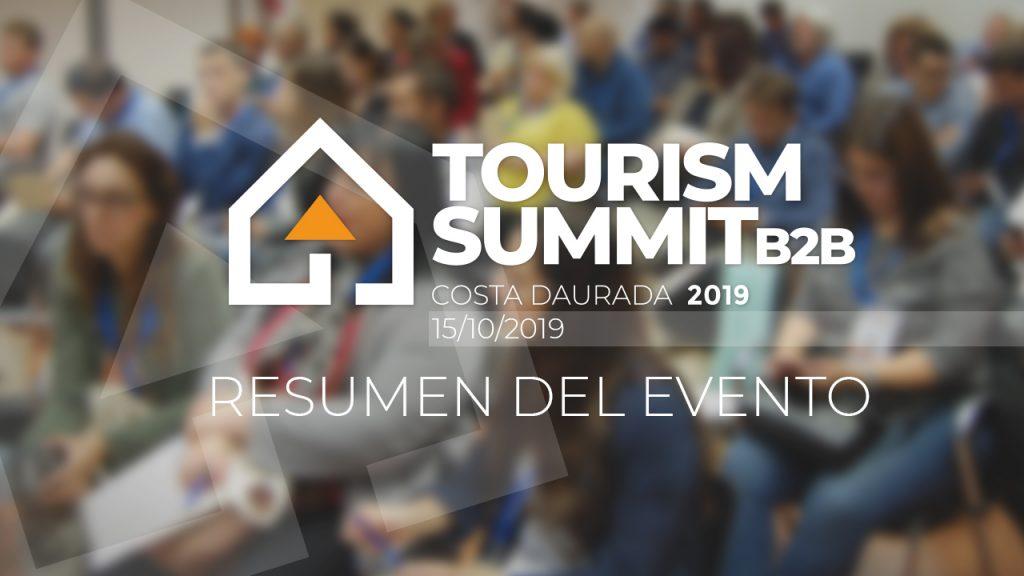 Resumen de lo acontecido en la primera edición del Tourist Summit 2019 en la Costa Dorada, el pasado martes 15 de octubre.