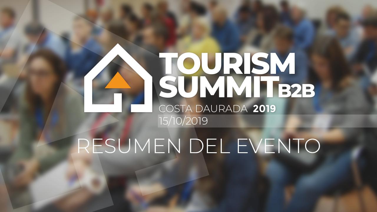 Resumen de lo acontecido en la primera edición del Tourist Summit 2019 en la Costa Dorada, el pasado martes 15 de octubre