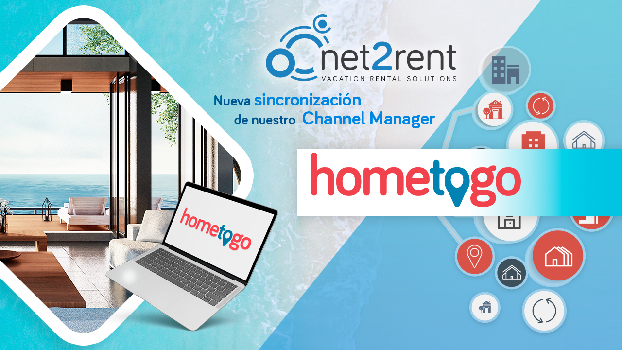 HomeToGo, nueva sincronización del Channel Manager de net2rent