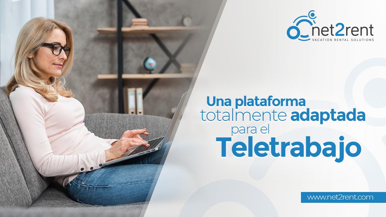 net2rent una plataforma totalmente adaptada para el teletrabajo