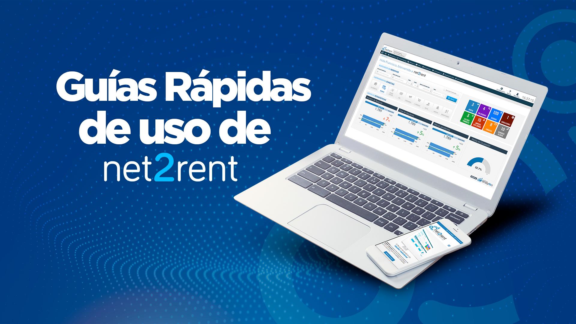 Guías rápidas de uso de net2rent