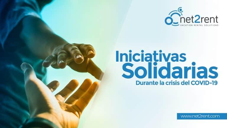 Desde net2rent estamos apoyando diferentes iniciativas solidarias con el objetivo de poner nuestro grano de arena para combatir al COVID-19