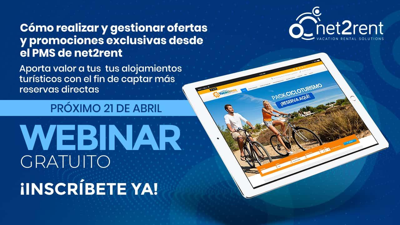 Mañana 21 de abril, Webinar gratuito de net2rent