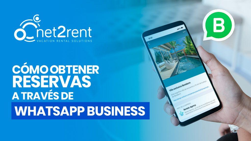 Obtener reservas con WhatsApp Business